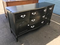 French provincial buffet solid wood buster furniture  Lynwood, 90262