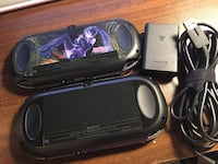 two PSVita (OLED version) with 3 games 伯纳比, V5H 3W9