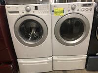 LG Front Load Washer&dryer set w/pedestal, in perfect condition  Baltimore, 21223