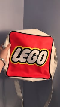 LEGO bag red