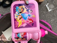 pink and purple Disney Princess themed plastic toy TORONTO