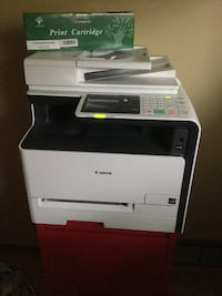 White and black canon multi-function printer Seattle, 98136