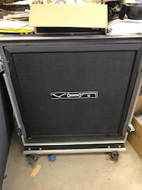 Vht Deliverance 4x12 cab with live-in ATA calzone case