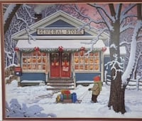 "Holiday Picture - 21 3/4"" X 17 3/4"""