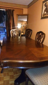 brown wooden dining table set Mississauga, L5L 2K8