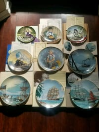 Collectible Plates EUC Georgina, L4P