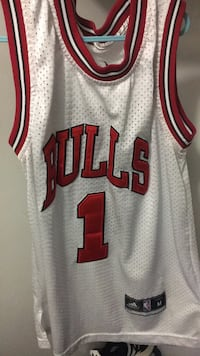 Size medium Derrick Rose basketball jersey  Hamilton, L8W