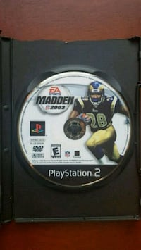 Sony PS2 MADDEN 2003 game disc Upper Darby, 19082