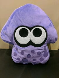 Nintendo Splatoon purple squid plush Vaughan