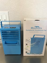 9.5-inch Personal Space Cooler Mini Portable Air Conditioner Fan