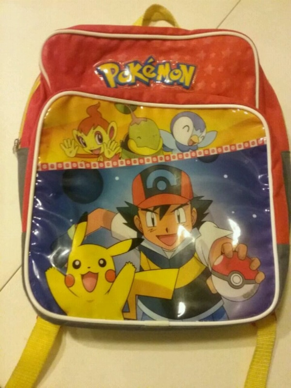 Pokemon  backpack small/med size