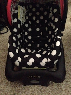 Minnie Mouse Carseat & Stroller