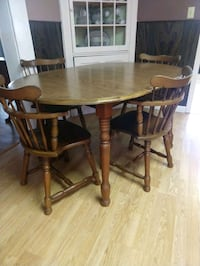 solid wood table Randolph, 02368