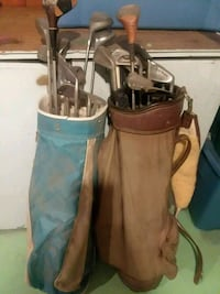 Brown and Blue Bag Golf Clubs Fremont, 68025