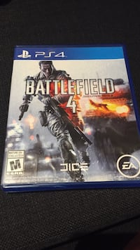 Battlefield 4 PS4 game  Mississauga