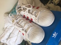 Adidas Superstar red/white Daly City, 94015