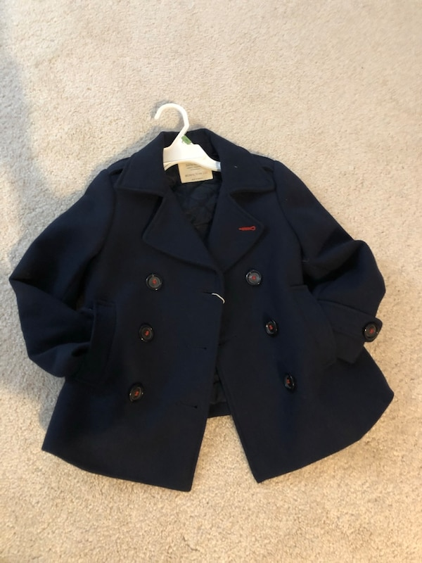 Zara 4-5t girls coat NWT