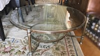 Gold tables with glass tops Toronto, M3H 4K4