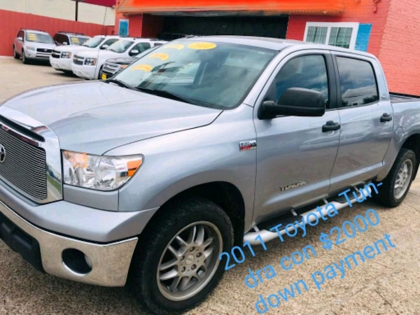 $2000 down payment Toyota - Tundra - 2011