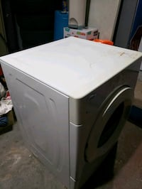 white front load clothes dryer Lauderhill, 33319