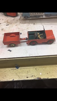 Vintage Dinky Toys Land Rover With Trailer Southbury, 06488