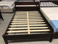 Brand new sturdy solid wood queen bed frame on sale  548 km