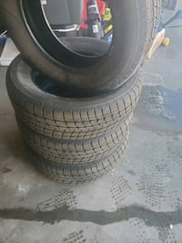Firestone Weathergrip All Weather tires P225/65R17