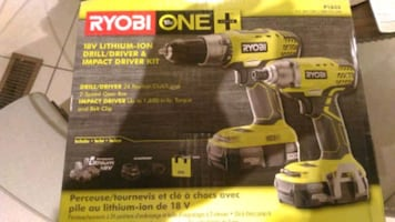 Brand new in box drill + impact drill set