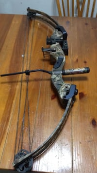 gray and black compound bow Bridgeport, 26330