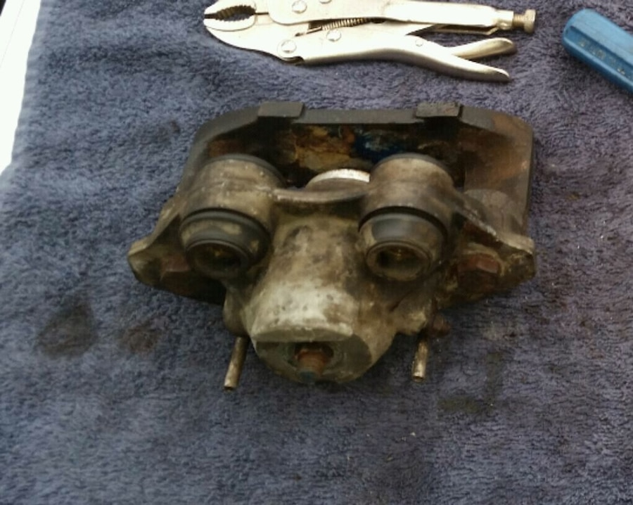 1988 Fiero Brake Caliper Slider Boots