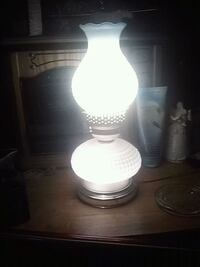 white and gray table lamp 818 mi