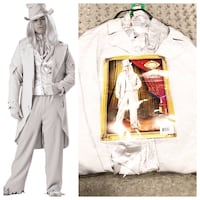 Men's Ghostly Gent Costume paid $130 Size 3XL