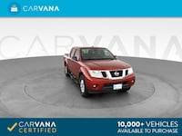 2015 Nissan Frontier Crew Cab pickup SV Pickup 4D 5 ft Red