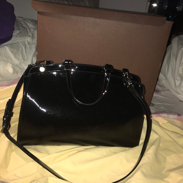 22249418637 Used Louis Vuitton Black Electric Epi Leather Brea GM Bag *BRAND NEW ...