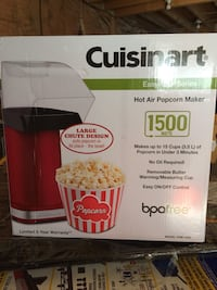 CUISINART HOT AIR POPCORN MAKER BRAND NEW!!! London, N6C 1J5