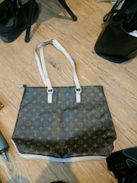 black Louis Vuitton Monogram leather tote bag Winnipeg, R3G