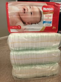 Huggies little snugglers size 1 Riverside, 92504