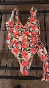 Floral brand new one piece swimsuit size US 4
