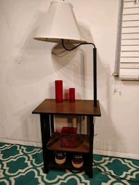 Nice wooden table with lamp and shelves in very go Annandale, 22003