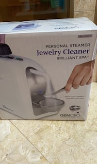 Gemoro personal steamer jewelry cleaner