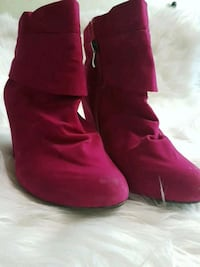 pink boots, size 37, very good condition Ottawa, K1G 4Y5