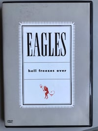 DVD musicale Eagles - hell freezes over - live 1994 Caravaggio, 24043