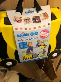 Trunki ride on suitcase