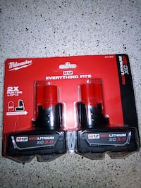 Milwaukee M12 3.0XC Battery Twin Pack San Antonio, 78230