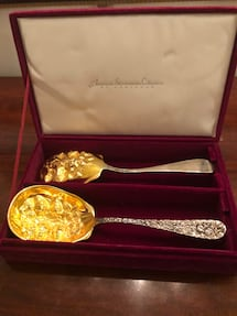 Berry spoons(American silversmith collection)