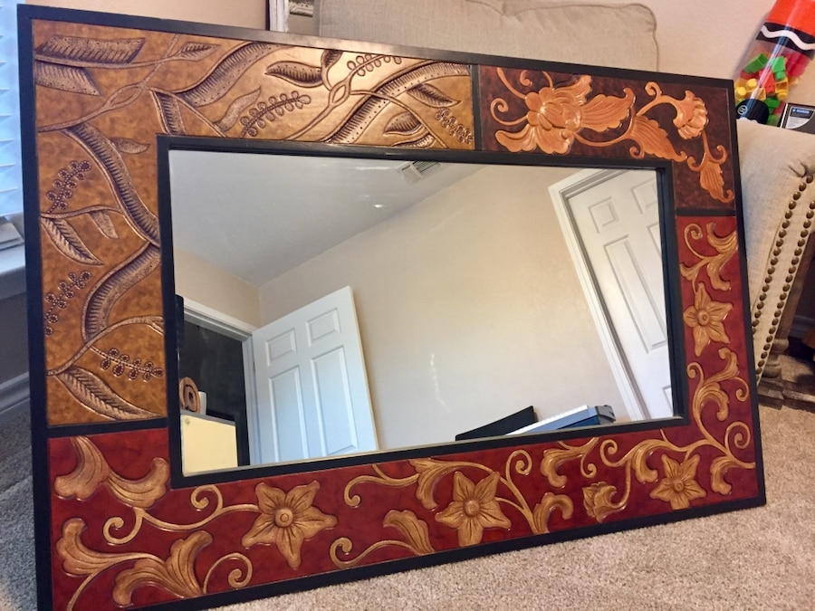 Used Pier 1 Wall Mirror Large And Very Heavy In Sherman