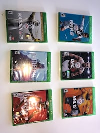 Brand New Xbox Games  Novato, 94947