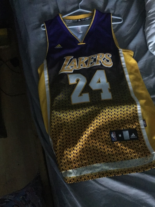29df2b23442 Blue and yellow los angeles lakers kobe bryant jersey. HomeOther Port Hope