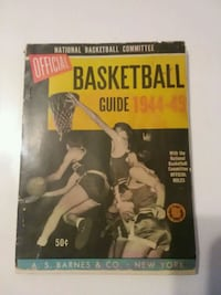 1944 / 1945 official basketball guide