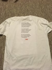 Supreme scar face tee size XL Vancouver, V5N